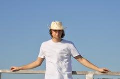 kapeluszowy mężczyzna Zdjęcia Stock