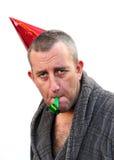 kapeluszowy mężczyzna przyjęcie Obraz Royalty Free