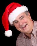kapeluszowy mężczyzna stary Santa Obraz Stock