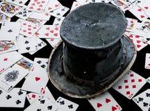 kapeluszowy magik s zdjęcia stock