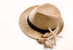 kapeluszowy Panama Obrazy Stock