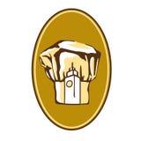 kapeluszowy szef kuchni logo s Fotografia Royalty Free