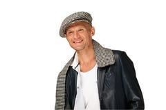 kapeluszowy target1431_0_ mężczyzna Zdjęcie Royalty Free