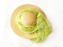 kapeluszu kapeluszowy lato Obraz Royalty Free