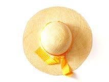 kapeluszu kapeluszowy lato Zdjęcia Royalty Free