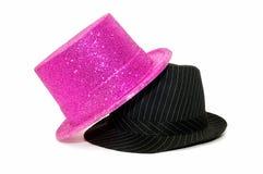 kapeluszu przyjęcie Obrazy Royalty Free