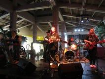 Kapena Band Jams on stage at Mai Tai Bar Royalty Free Stock Images