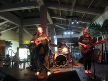 Kapena Band Jams on stage at Mai Tai Bar Stock Images