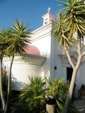 Kapernaum棕榈临近希腊东正教2010年 图库摄影