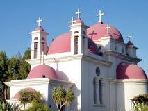 Kapernaum domes and crosses 2010 Royalty Free Stock Image