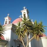 Kapernaum Palms and Crosses 2010 Stock Image