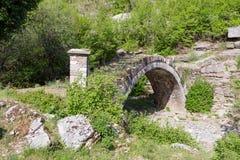 Kapetan Arkouda桥梁, Epirus,希腊 库存照片
