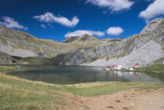 Kapetanovo湖,黑山 库存图片