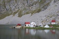 Kapetanovo湖,黑山 免版税图库摄影