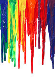 kapiąca farba obrazy stock