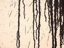 Kapiąca farba przy ścianą Obrazy Stock