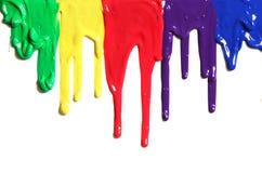 kapiąca farba Zdjęcie Royalty Free