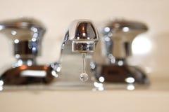 kapiący faucet Obrazy Stock