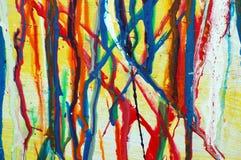kapie abstrakcyjna farbę. Obrazy Stock