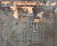 kapinosa szara grunge przecieku metalu pomarańcze Obraz Stock