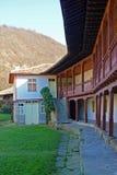 Kapinovo monastery terrace Stock Photography