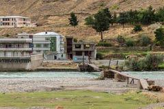 Kapisa valley in afghanistan Royalty Free Stock Images