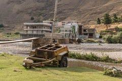 Kapisa valley in afghanistan Royalty Free Stock Image