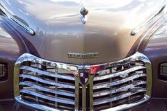 Kapiszon & Grille Klasyczny Dębny Lincoln sedan obraz stock