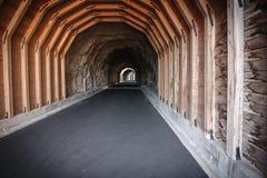 Kapiszonu śladu Rzeczny tunel Zdjęcie Royalty Free