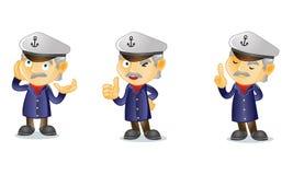 Kapitän 2 stock abbildung