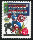 Kapitän Amerika lizenzfreies stockbild