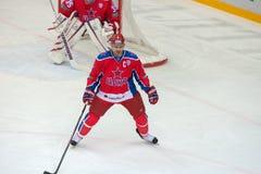 Kapitän Denis Denisov (6) Lizenzfreie Stockfotografie