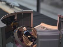 Kapitän Picard stockbild