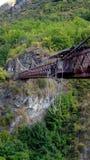 Kapitän-Schlucht Kawerau-Fluss Queenstown Lizenzfreies Stockfoto