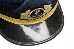 Kapitänschutzkappe stockbilder