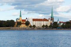 kapitał baltic Łotwy stany Riga Fotografia Stock
