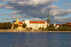 kapitał baltic Łotwy stany Riga Obraz Royalty Free