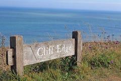 kapitał beachy Anglii głowy samobójstwo. Fotografia Stock