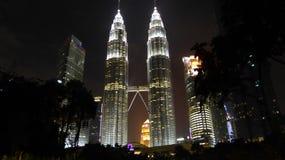 kapitał Kuala Lumpur Malaysia wieże podróż bliźniaczki fotografia royalty free