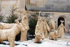 Kapitał Praga republika czech typ znany na całym świecie świątynie na panoramie miasto przed bożymi narodzeniami obrazy royalty free