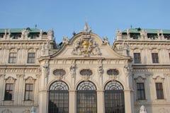 Kapitał Wiedeń Austria Krajobrazy architektoniczni i rzeźbeni arcydzieła miasto podczas majestatycznego imperium fotografia stock