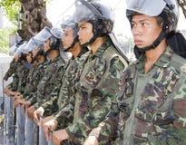 kapitał zbiegający się demonstranci tajlandzcy Obraz Stock