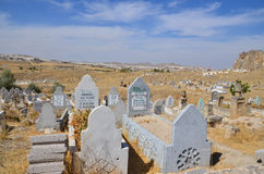 kapitałowych cmentarnianych fes marokański muzułmański stary Obraz Stock