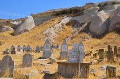 kapitałowych cmentarnianych fes marokański muzułmański stary Obrazy Royalty Free