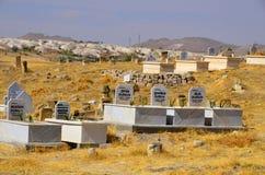 kapitałowych cmentarnianych fes marokański muzułmański stary Fotografia Royalty Free