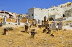kapitałowych cmentarnianych fes marokański muzułmański stary Zdjęcia Stock