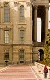 Kapitałowy Buduje Springfield Illinois Obraz Royalty Free