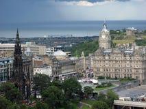 kapitałowy Edinburgh Scotland Fotografia Royalty Free