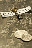 kapitału klucz Obraz Royalty Free
