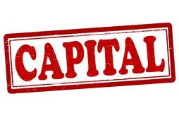 kapitaal royalty-vrije illustratie